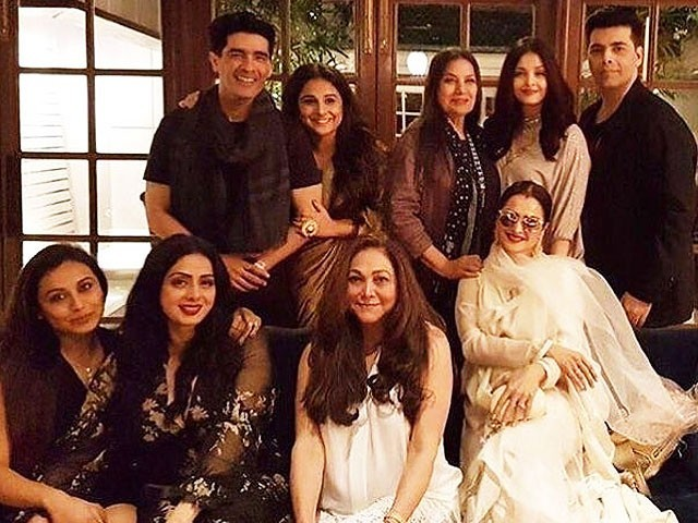 Rani Mukherji, Aishwarya Rai Bachchan and others grace Sridevi's birthday bash