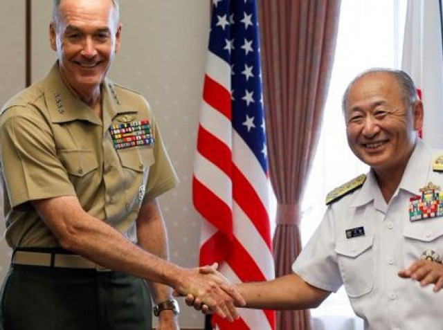 Top US general to meet with South Korean president about crisis