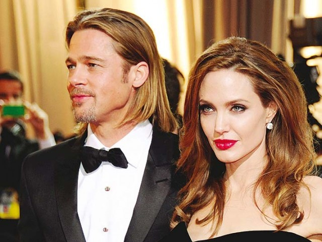 Pitt and Jolie were married for two years. PHOTO: FILE