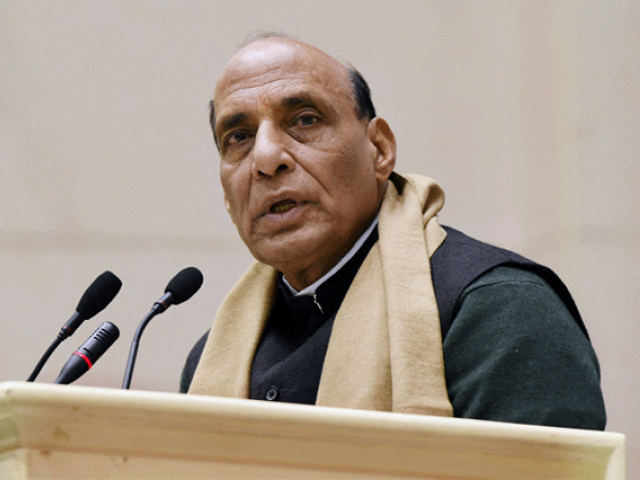 Stone pelting cases decline in J&K due to NIA: Rajnath