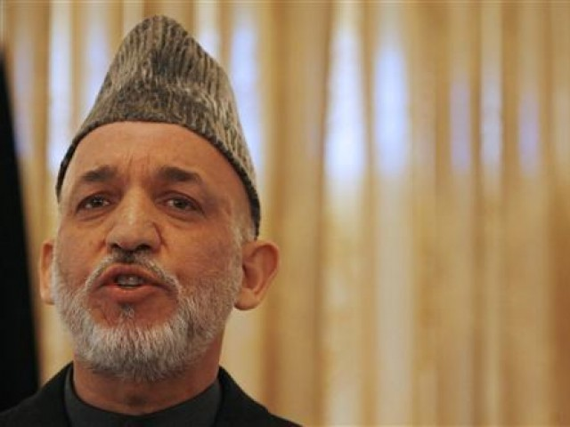 Former Afghan President says it is against peace and the national interest of the country. PHOTO: REUTERS