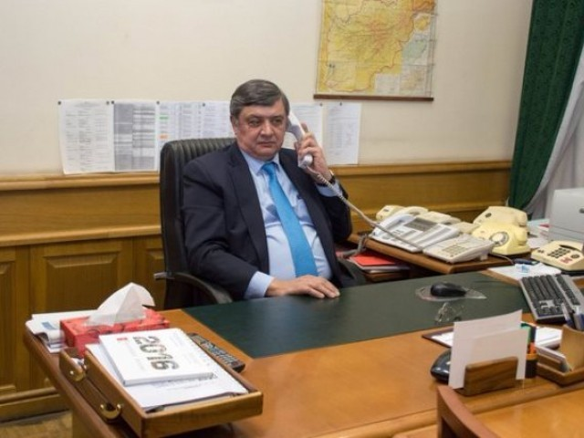 Russian presidential envoy to Afghanistan Zamir Kabulov. PHOTO SOURCE: TWITTER/MINISTRY OF FOREIGN AFFAIRS OF THE RUSSIAN FEDERATION