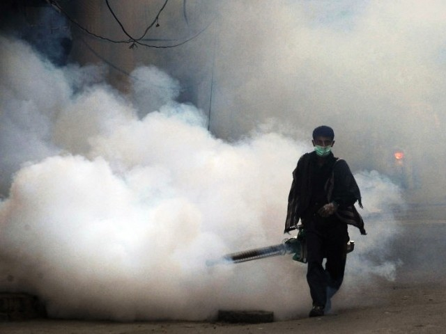 At least 69 fresh cases of dengue were confirmed in Peshawar on Wednesday. PHOTO: FILE