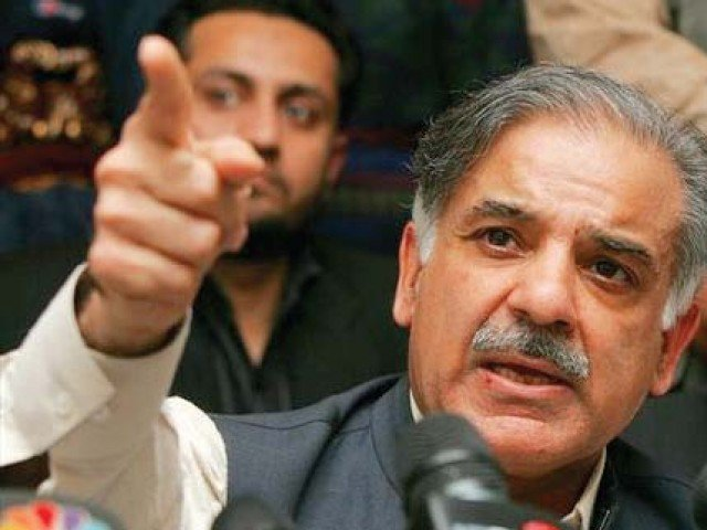 Time to bid farewell to USA aid: Shahbaz Sharif