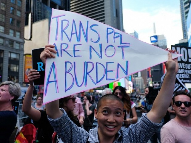 Trump Signs Memo to Implement Transgender Military Ban