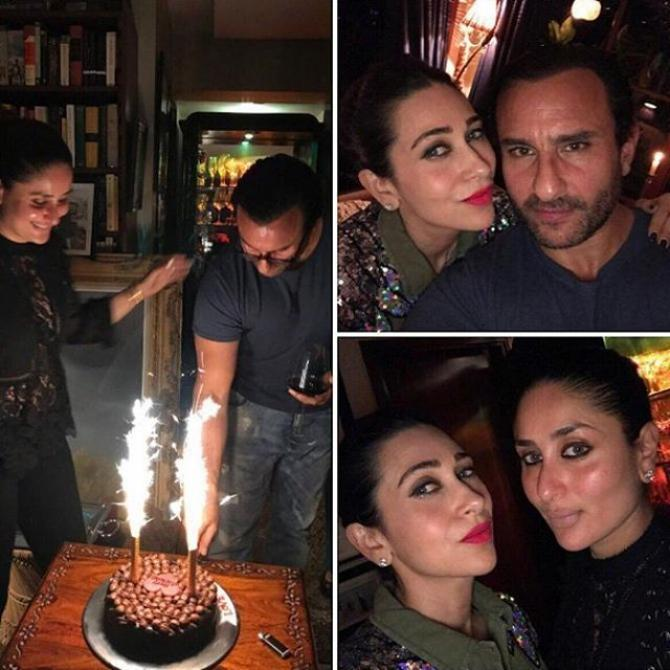Saif Ali Khan Celebrated His 47th Birthday In Style