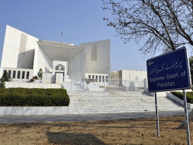 Justice Qazi Faez Isa asked why the trial of accused could not be completed so far. He added that DG NAB should be included as the co accused. PHOTO: AFP