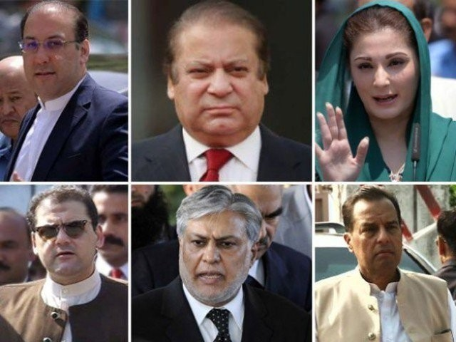 Executive board of NAB approves four references against Sharif family, Ishaq Dar