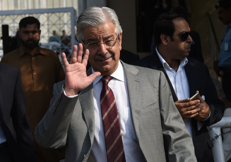 Foreign Minister Khawaja Asif. PHOTO: AFP / FILE
