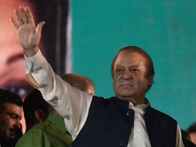 Former prime minister Nawaz Sharif. PHOTO: EXPRESS / FILE