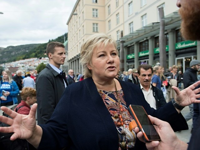 Norway's ruling party claims election win