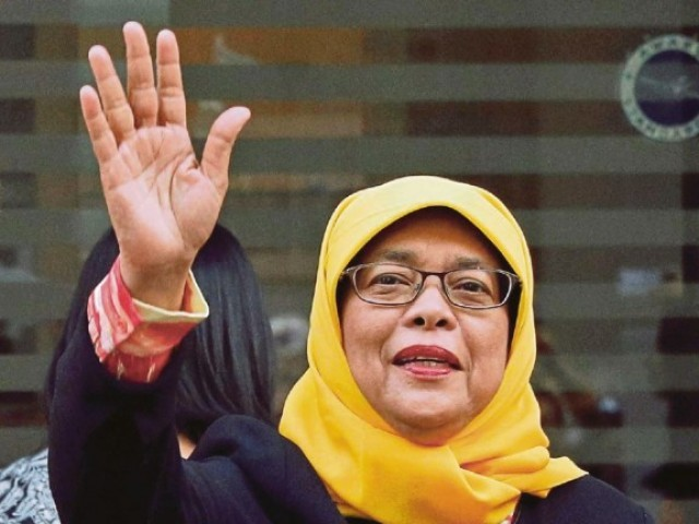 Former speaker of Singapore's parliament Halimah Yacob. PHOTO: REUTERS