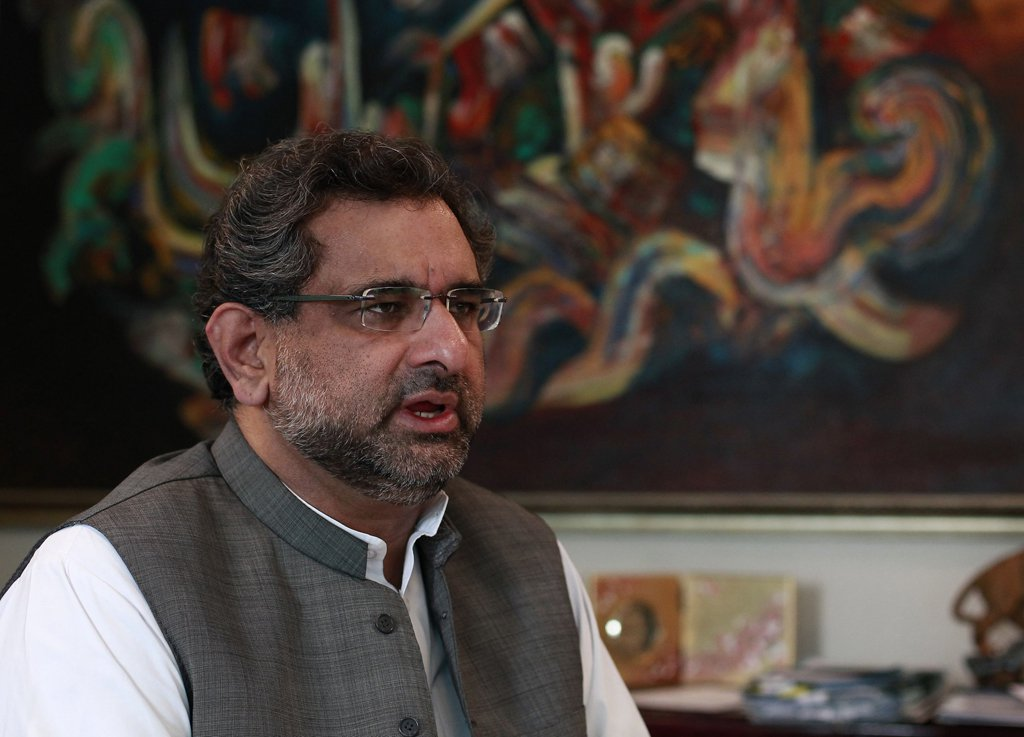 Prime Minister Shahid Khaqan Abbasi. PHOTO: REUTERS / FILE