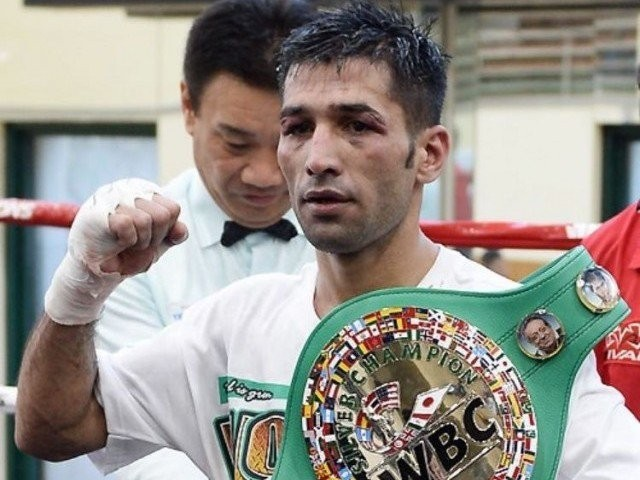 HOPES HIGH: The proposed title fight will take place in Higa's hometown of Japan but Waseem's promoter is confident his fighter will get the job done. PHOTO COURTESY: ANDY KIM