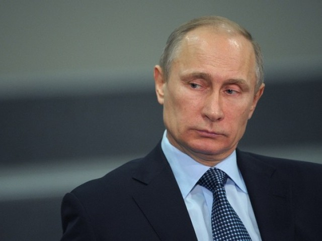 Russian President Vladimir Putin. PHOTO: REUTERS