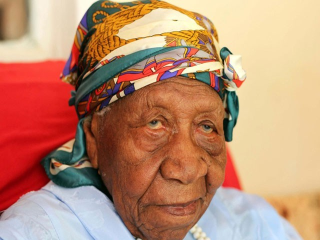 Jamaica's Violet Brown also known as 'Aunt V' died on September 15 at a local hospital. PHOTO: AFP