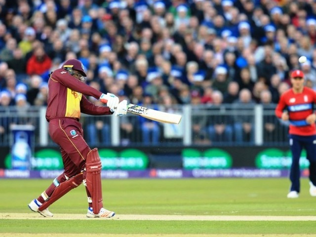 West Indies beat England by 21 runs in T20I