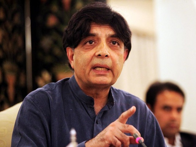 'In-house cleaning' necessary, but don't embarrass Pakistan: Nisar