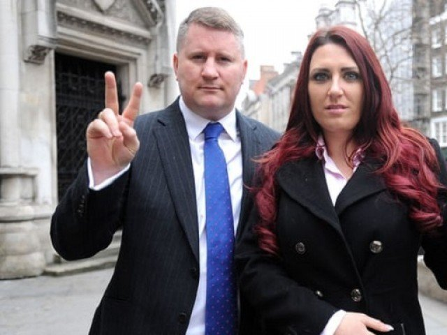 Two Britain First leaders charged with religiously aggravated harassment