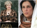 May was introduced to her husband, Philip, by Benazir Bhutto