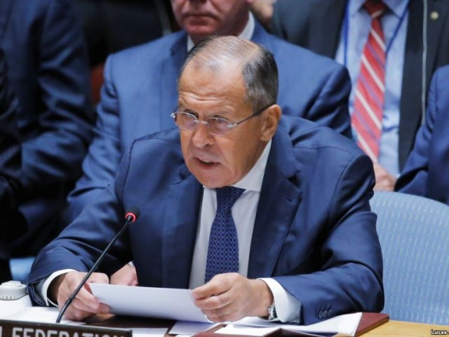 Sergei Lavrov urges calm among 'hotheads' over North Korea crisis