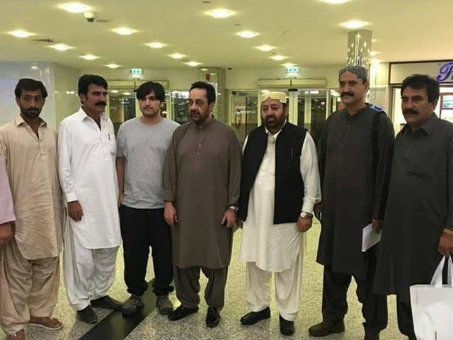 Gazain Marri taken into custody on return from 18-year exile