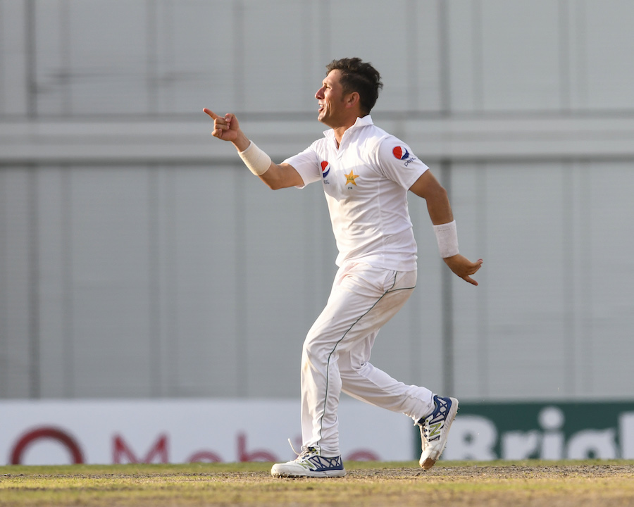 Caption NO COMPROMISE ON FITNESS Chief selector Inzamamul Haq said Yasir Shah was told in clear terms that he would not be selected if he didn't pass the final fitness test