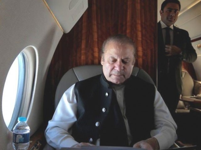Deposed PM Nawaz Sharif. PHOTO: File