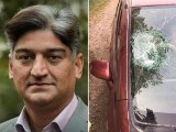 Matiullah said this was the second time he had been attacked by unknown men.PHOTO: EXPRESS