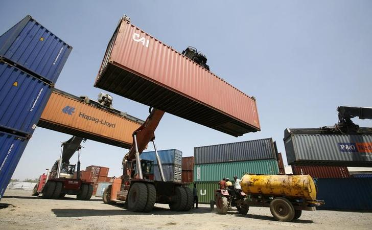 Import of capital goods and transport equipment has increased substantially. PHOTO: REUTERS