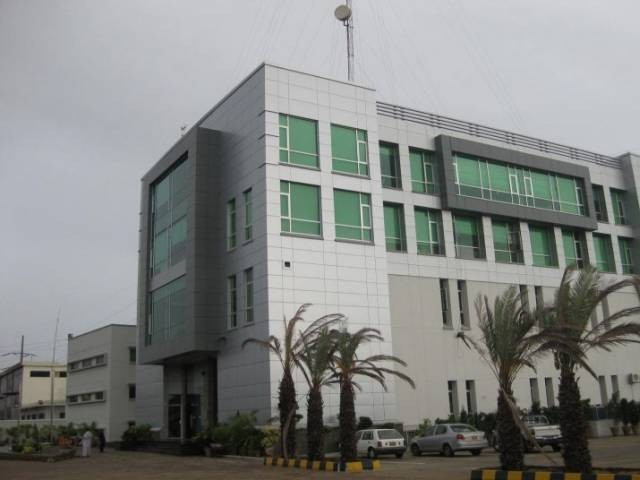 KEletric HQ in Karachi. PHOTO: EXPRESS