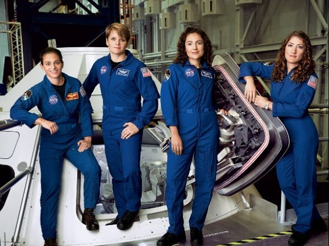 Mars missions may be all-female to avoid astronauts having sex during 1.5-year journey | The Express Tribune