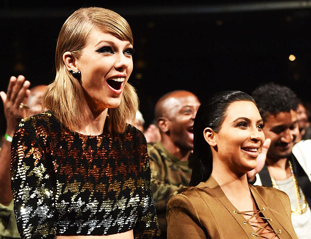 Kim Kardashian & Kanye West think Taylor Swift's disses are