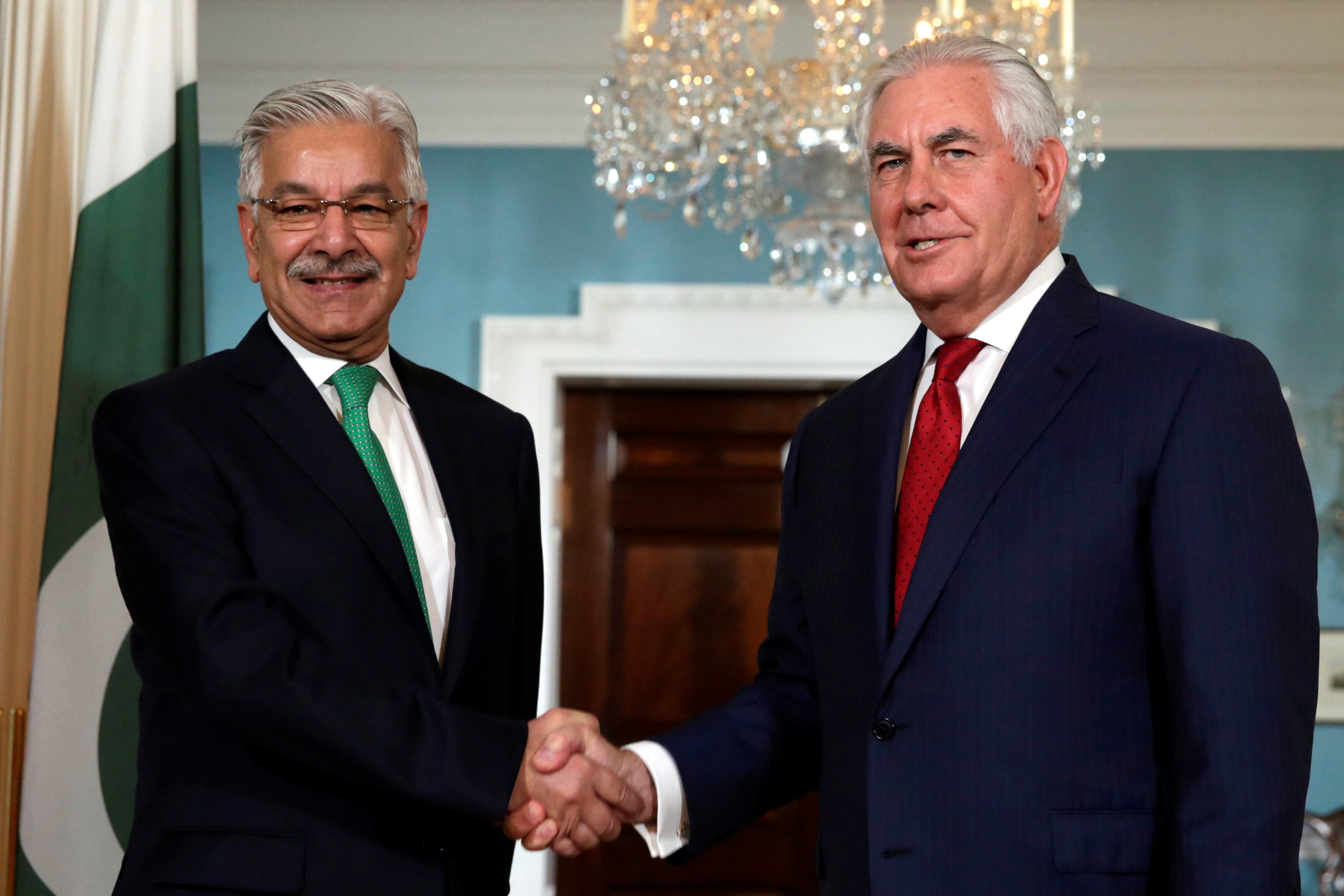 Tillerson Says US Concerned About Pakistan Govt's Future