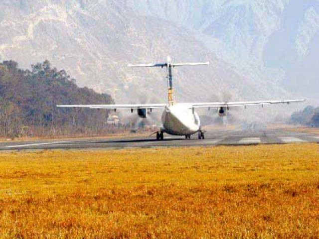 Direct flights from Lahore and Karachi will be started to northern areas of Pakistan along with cargo service. PHOTO: FILE