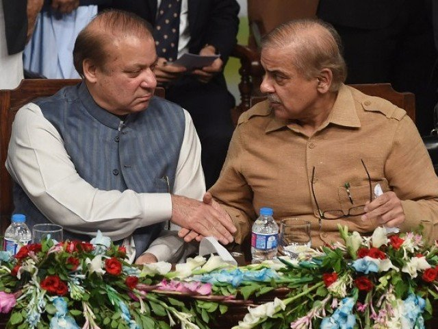 Sharif brothers. PHOTO: AFP