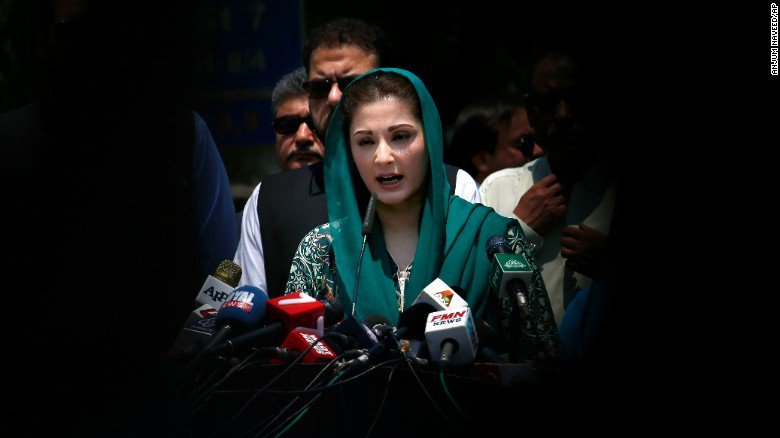 Captain Safdar arrested, Maryam heads home