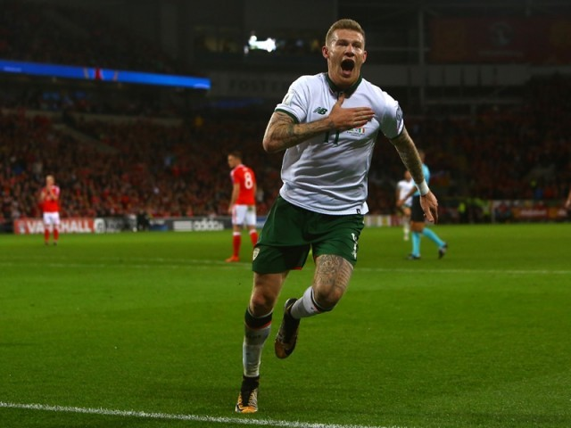 Wales and Republic of Ireland battle in World Cup qualifier