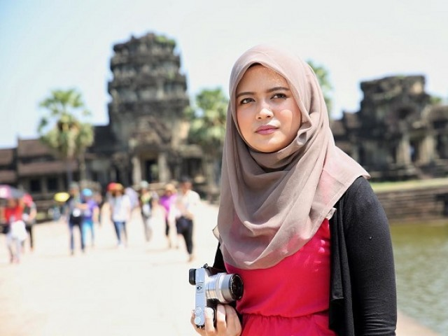 25-year-old Anissa Syifa Adriana  shares experiences  of travelling. PHOTO: INSTAGRAM