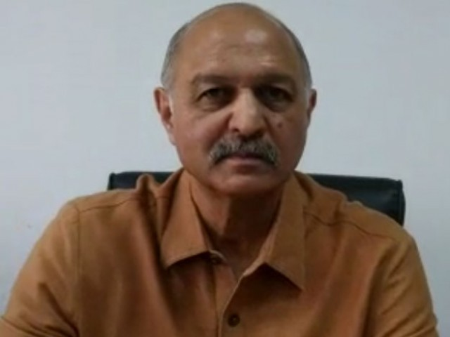 Senator Mushahid Hussain. PHOTO: SCREEN GRAB