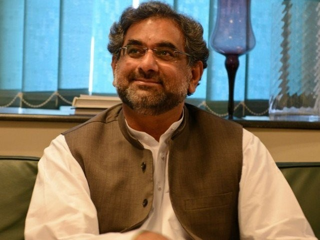 Shahid Khaqan Abbasi. PHOTO: APP