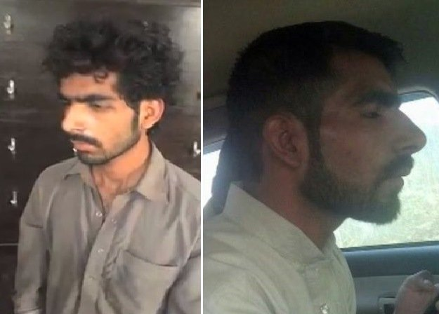 Pictures of Waseem, suspected to be the man stabbing women in Karachi. PHOTO: Screengrab