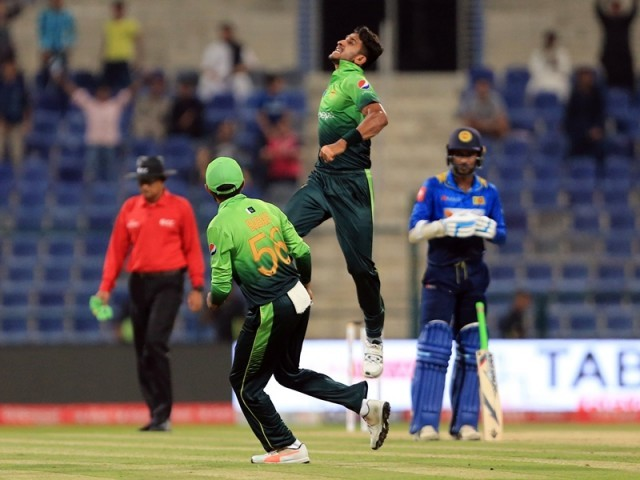 Hasan Ali becomes the highest wicket-taker in ODIs in 2017 and also the fastest Pakistani to reach the 50 wicket mark in ODIs