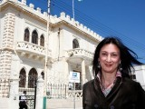 Maltese investigative journalist Daphne Caruana Galizia was killed after a powerful bomb blew up a car, in Bidnija, Malta PHOTO: REUTERS