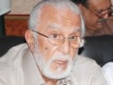 Former governor Punjab Sardar Zulfiqar Khosa. PHOTO: EXPRESS FILE