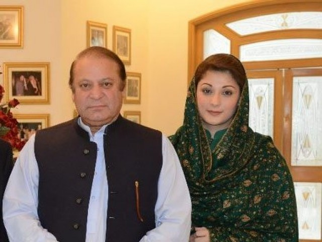 Image result for nawaz sharif and maryam