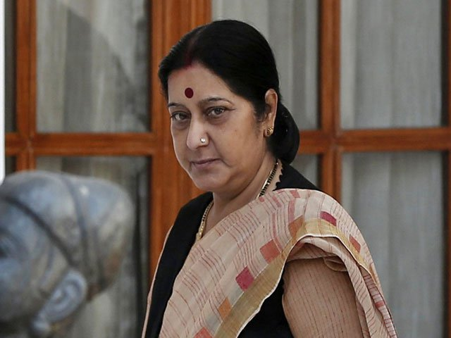Swaraj asks Indian mission to grant medical visa to Pak boy