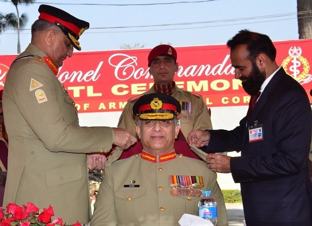 Gen Qamar commends Medical Corps' role for saving soldiers