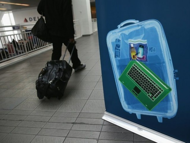Laptops in checked bags pose fire and explosion risk