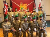 The winning team of Pakistan Army. PHOTO: ISPR